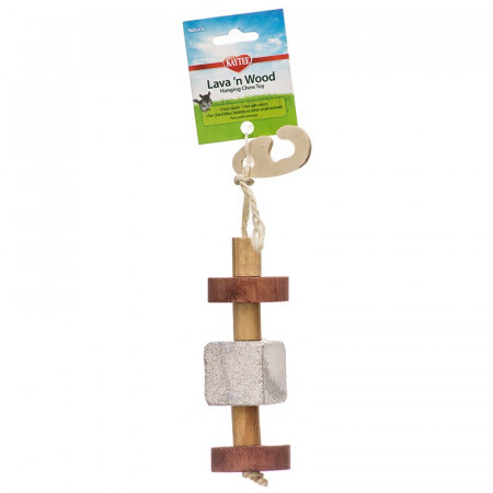 Kaytee Lava 'N Wood Hanging Chew Toy alternate img #1