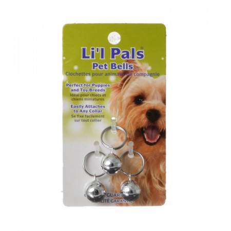 Lil Pals Pet Bells - Silver alternate img #1