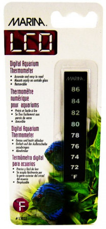 Marina LCD Digital Aquarium Thermometer alternate img #1