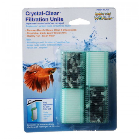 Penn Plax Smallword Replacement Filtration Units alternate img #1