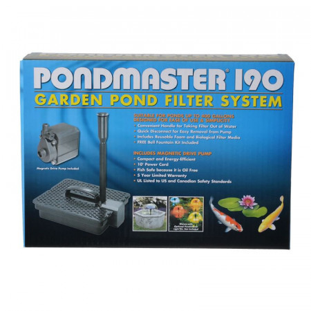 Pondmaster Pond Water Pump & Filter Kit alternate img #1