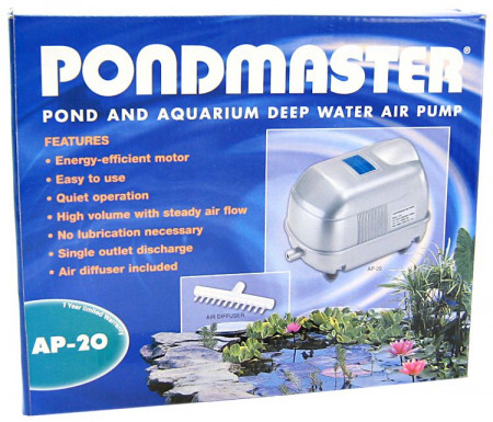 Pondmaster Pond and Aquarium Deep Water Air Pump alternate img #1