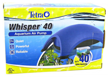 Tetra Whisper Aquarium Air Pump (UL) alternate img #1