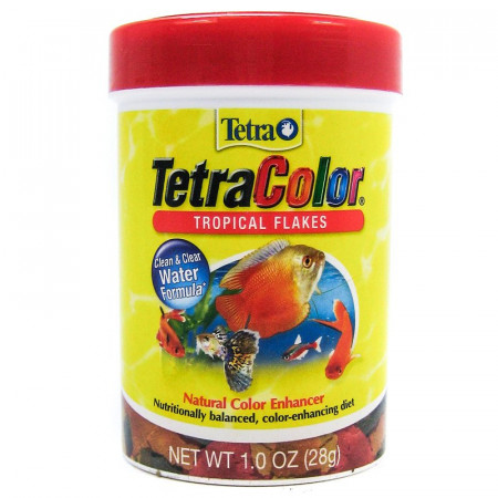 Tetra Tropical Color Flakes alternate img #1