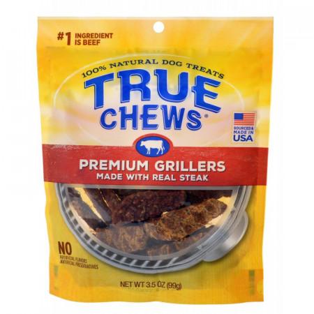 True Chews Premium Grillers with Real Steak alternate img #1