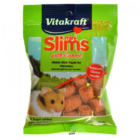 Vitakraft Mini Slims with Carrot for Hamsters alternate img #1