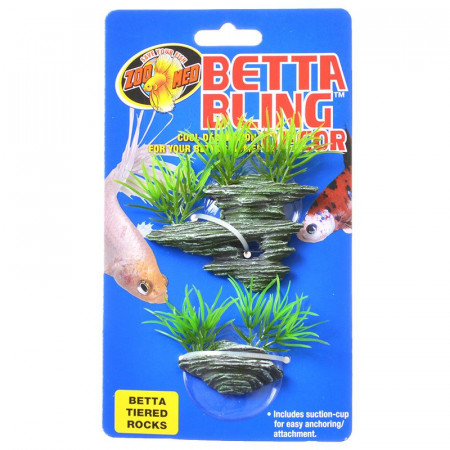 Zoo Med Betta Bling Decor - Tiered Rocks alternate img #1