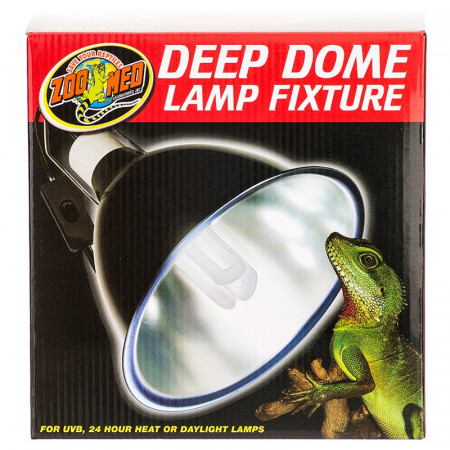Zoo Med Deep Dome Lamp Fixture alternate img #1