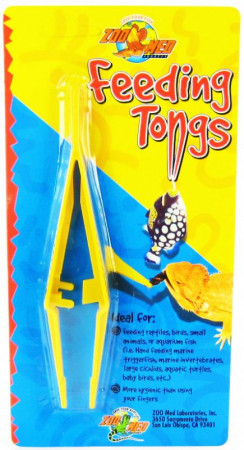Zoo Med Feeding Tongs - Plastic alternate img #1