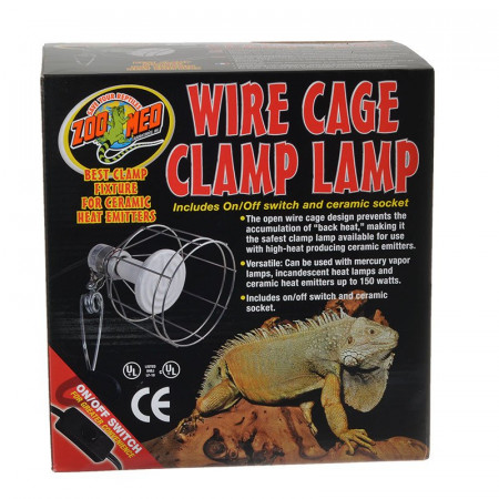 Zoo Med Wire Cage Clamp Lamp alternate img #1