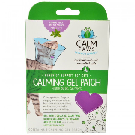 Calm Paws Calming Gel Patch for Cat Collars alternate img #1