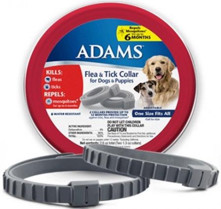Adams Flea & Tick Collar for Dogs & Puppies alternate img #1