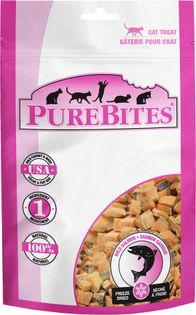 PureBites Wild Salmon Freeze Dried Cat Treats alternate img #1