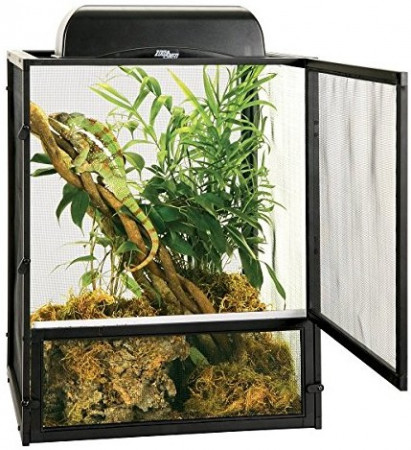 Zoo Med ReptiBreeze Open Air Black Aluminum Screen Cage alternate img #2