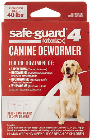 8in1 Pet Safe-Guard 4 Canine Dewormer for Large Dogs alternate img #1