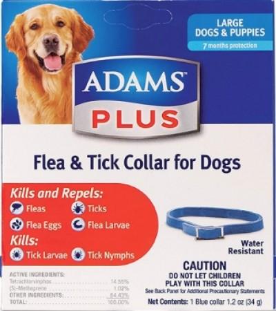 Adams Plus Flea & Tick Collar - Large Dogs alternate img #1