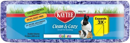 Kaytee Clean & Cozy Colors Small Pet Bedding - Purple alternate img #1