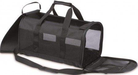 Petmate Soft Sided Kennel Cab Pet Carrier - Black alternate img #2
