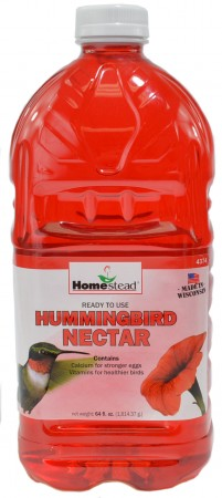 Homestead Hummingbird Red Ready to Use Liquid Nectar alternate img #1
