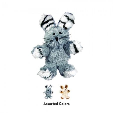 KONG Softies Fuzzy Bunny Cat Toy alternate img #3