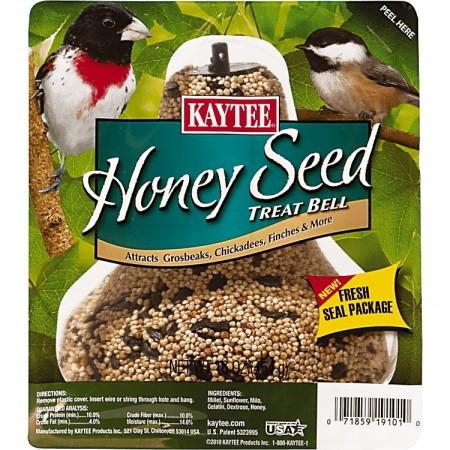 Kaytee Honey Seed Treat Bell for Wild Birds alternate img #1
