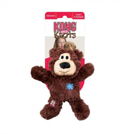 KONG Wild Knots Bear - Assorted Colors alternate img #1