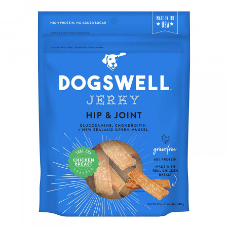 Dogswell Jerky Hip & Joint Dog Treats - Chicken alternate img #1