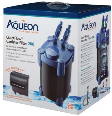 Aqueon QuietFlow Canister Filter alternate img #1
