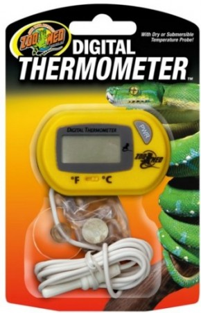 Zoo Med Digital Thermometer for Terrariums alternate img #1