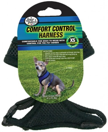 Four Paws Comfort Control Harness Black alternate img #1
