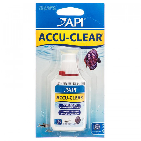 API Accu-Clear Clears Cloudy Aquarium Water alternate img #1