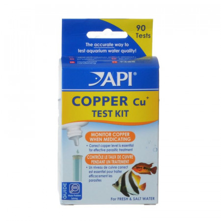 API Copper (Cu+) Test Kit for Fresh and Saltwater Aquariums alternate img #1