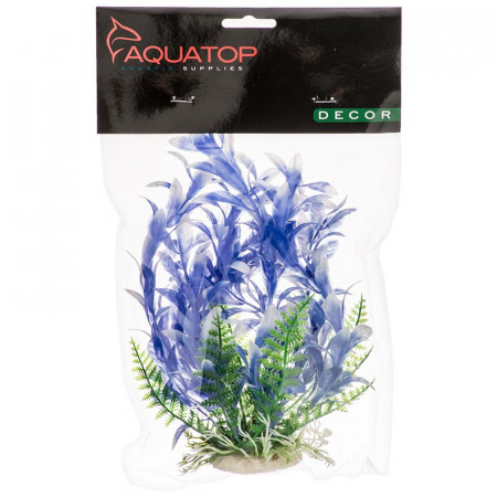 Aquatop Bacopa Aquarium Plant - Blue & White alternate img #1