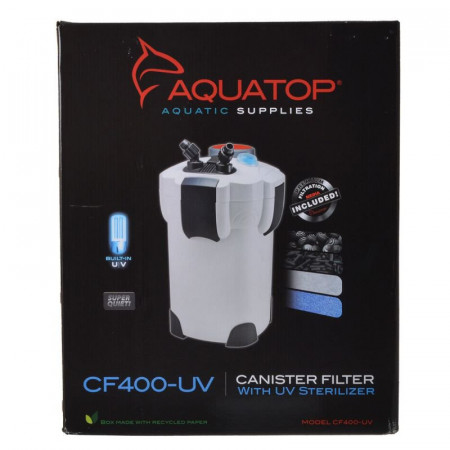 Aquatop CF Canister Filter with UV Clarification alternate img #1