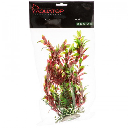 Aquatop Hygro Aquarium Plant - Red & Green alternate img #1