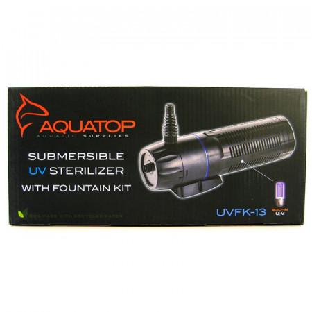 Aquatop Submersible Pond UV Filter with Fountain Kit - UVFK Series alternate img #1