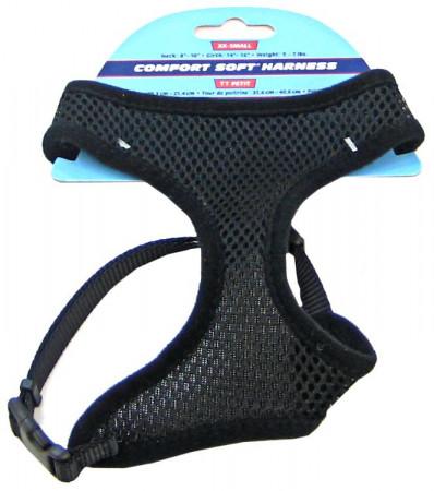Coastal Pet Comfort Soft Harness - Black alternate img #1