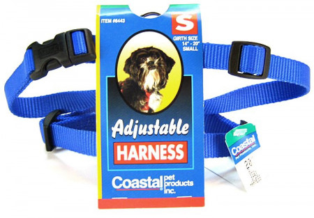 Coastal Pet Comfort Wrap Adjustable Harness - Blue alternate img #1