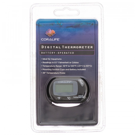 Coralife Battery-Operated Digital Thermometer for Aquariums & Terrariums alternate img #1