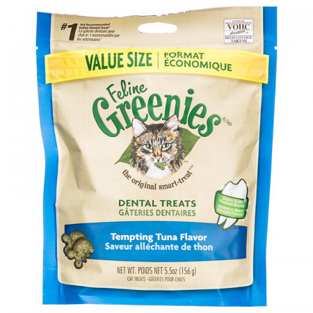 Greenies Feline Dental Treats - Tempting Tuna Flavor alternate img #1