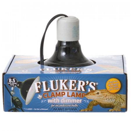 Flukers Clamp Lamp with Dimmer alternate img #1