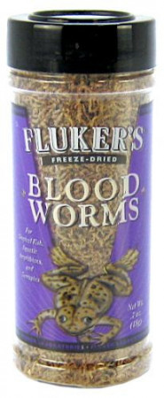 Flukers Freeze Dried Bloodworms alternate img #1