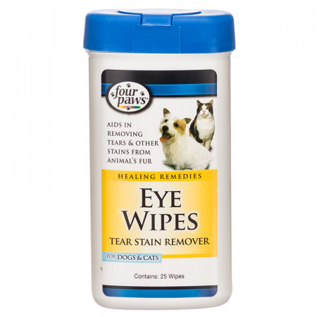 Four Paws Eye Wipes Tear Stain Remover alternate img #1
