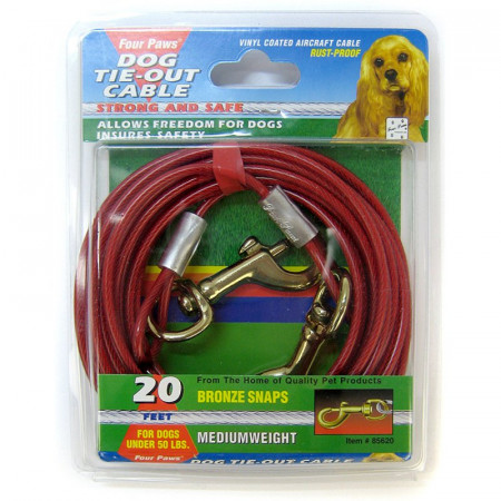 Four Paws Tie Out Cable - Medium Weight alternate img #1