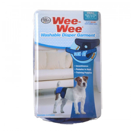Four Paws Wee Wee Washable Diaper Garment - Small alternate img #1