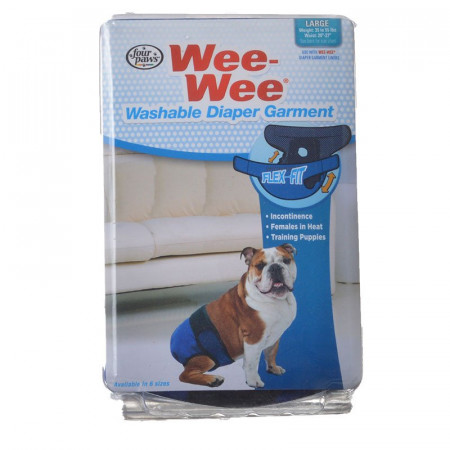 Four Paws Wee Wee Washable Diaper Garment - Large alternate img #1