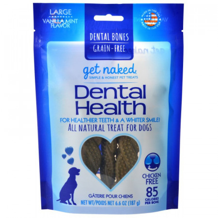 Get Naked Grain Free Dental Health Bones - Large alternate img #1
