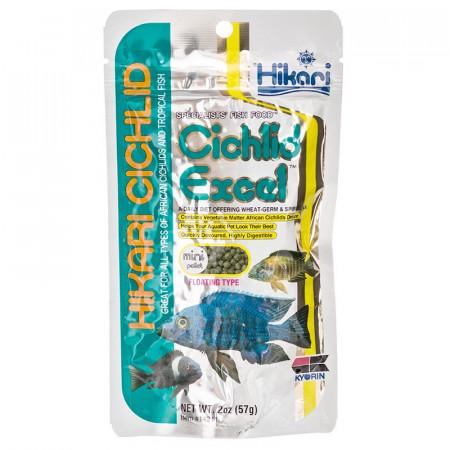 Hikari Cichlid Excel Floating Mini Pellet Food alternate img #1