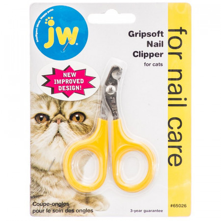 JW GripSoft Nail Clipper for Cats alternate img #1