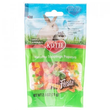 Kaytee Fiesta Healthy Toppings for Small Animals Papaya alternate img #1